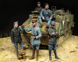 French Tank Crew WWI