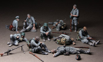 German Infantrymen