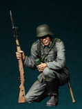 German Infantryman in action