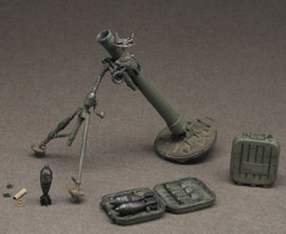 Russian 82 mm mortar model 1937